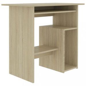 Počítačový stůl 80x45 cm Dekorhome Dub sonoma