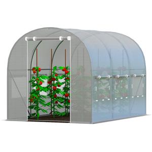 Zahradní fóliovník 2x3m zelená Šedá