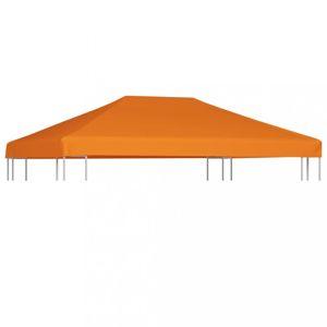 Náhradní střecha na altán 4 x 3 m Dekorhome Oranžová
