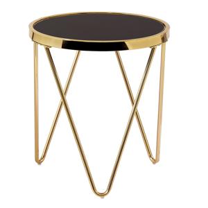 Odkládací stolek VALERO Tempo Kondela Zlatá