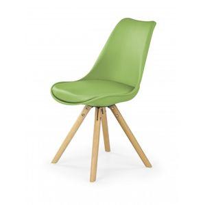 Jídelní židle K201 Halmar Zelená