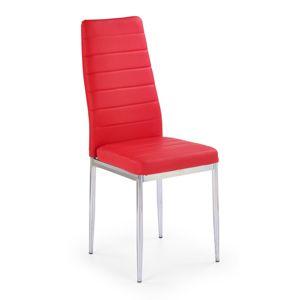 Jídelní židle K70C Halmar Červená