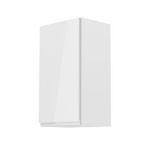 Horní skříňka AURORA G40 - levá Tempo Kondela Bílá
