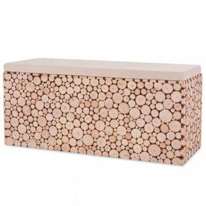 Lavice 100 cm jedlové dřevo Dekorhome