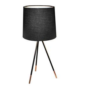 Stolní lampa JADE Typ 4 černá Tempo Kondela
