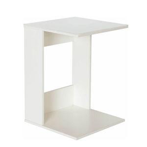 Příruční stolek ZENOR bílá Tempo Kondela