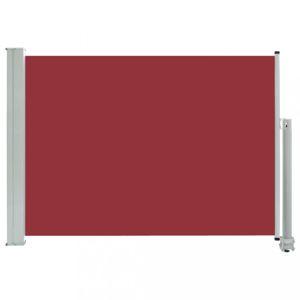 Zatahovací boční markýza 80x300 cm Dekorhome Červená