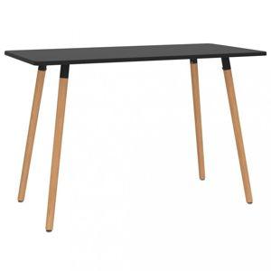 Jídelní stůl 120x60cm Dekorhome Černá
