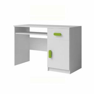 Počítačový stůl SVEND bílá Tempo Kondela