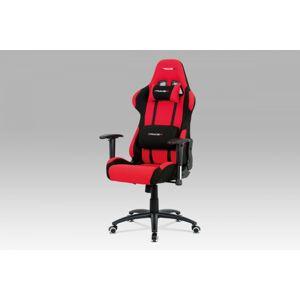 Kancelářská židle KA-F01 RED červená Autronic