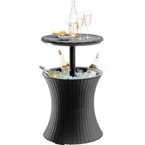 Zahradní stolek COOL BAR hnědá