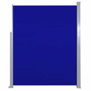 Zatahovací boční markýza 180x500 cm Dekorhome Modrá