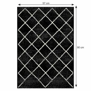 Koberec MATES TYP 1 černá 57x90 cm