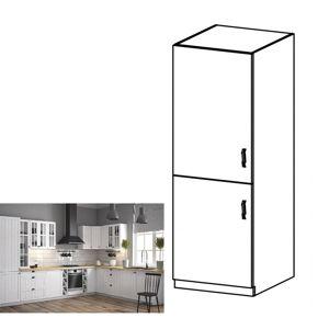 Sříňka na vestavěnou lednici PROVANCE D60ZL bílá / sosna andersen Tempo Kondela Levé