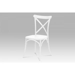 Jídelní židle CT-830 plast Autronic Bílá