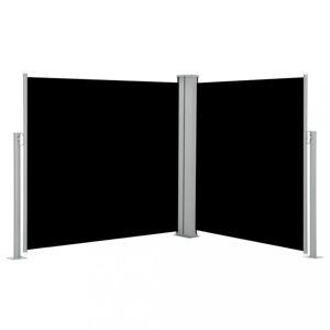 Zatahovací boční markýza 120x600 cm Dekorhome Černá