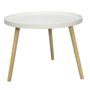 Konferenční stolek SANSE TYP 1 bílá / přírodní Tempo Kondela