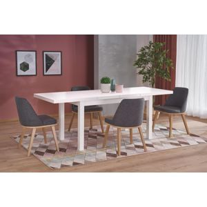 Jídelní stůl TIAGO 2 rozkládací 140/220 Halmar Bílá