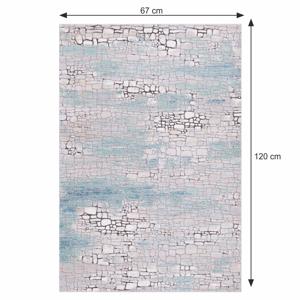 Koberec MAREO vícebarevný Tempo Kondela 67x120 cm