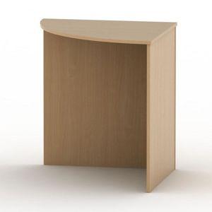 Stůl rohový obloukový TEMPO AS NEW 024 Tempo Kondela Buk