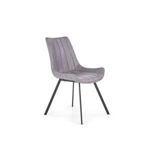 Jídelní židle K279 šedá Halmar
