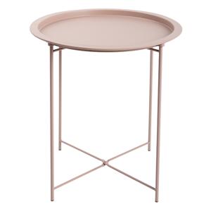 Odkládací stolek RENDER Tempo Kondela Světle růžová