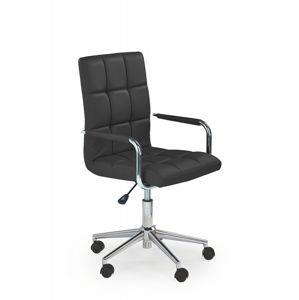 Dětská židle GONZO 2 Halmar Černá