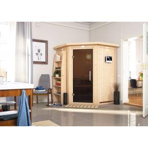 Interiérová finská sauna 151 x 151 cm Dekorhome