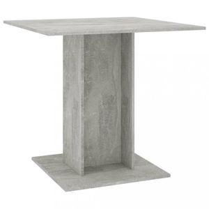Jídelní stůl 80x80 cm Dekorhome Beton
