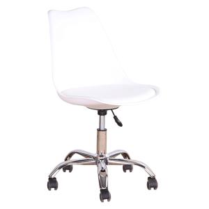 Kancelářská židle DARISA Tempo Kondela Bílá
