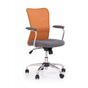 Dětská židle ANDY Halmar Oranžová