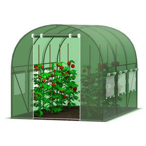 Zahradní fóliovník 2,5x5m zelená