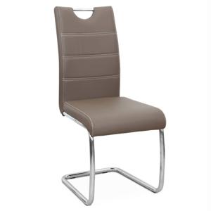 Jídelní židle ABIRA NEW Tempo Kondela Hnědá