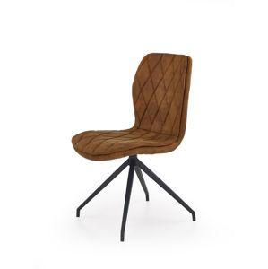 Jídelní židle K237 Halmar Hnědá