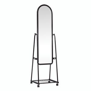 Zrcadlo na kolečkách DUMAS Tempo Kondela Černá