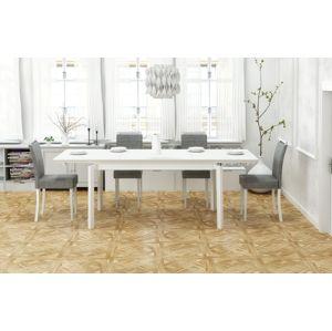 Jídelní stůl rozkládací ROIS 160/250 Halmar Bílá