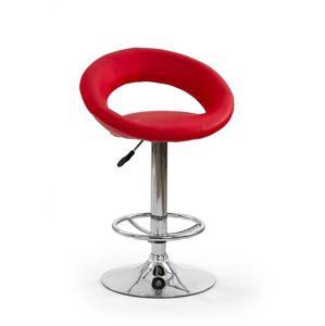 Barová židle H-15 Halmar červená