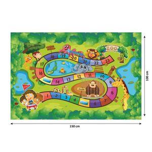 Dětský koberec ZOAN vzor ZOO Tempo Kondela 150x100 cm