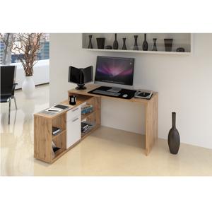 Počítačový stůl NOE NEW Tempo Kondela Dub wotan