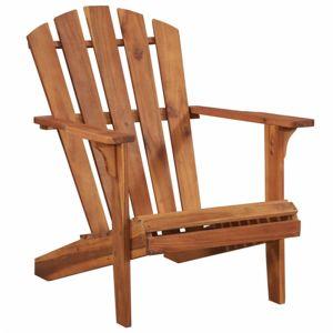 Zahradní židle ADIRONDACK hnědá