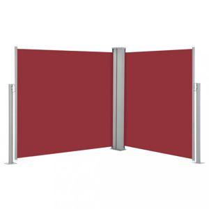 Zatahovací boční markýza 100x600 cm Dekorhome Červená