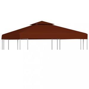 Náhradní střecha na altán 310 g/m² 3 x 3 m Dekorhome Cihlová