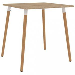 Jídelní stůl 80x80cm Dekorhome Přírodní